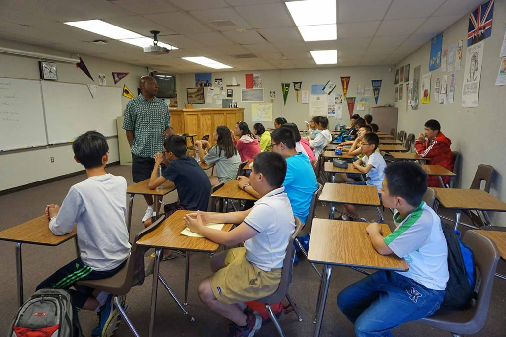 International study abroad programs for high school students